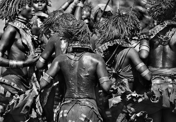 """""""Etiópia"""", imagem da série """"Gênesis"""", produzida pelo fotógrafo Sebastião Salgado, que pode ser vista na SP-Arte/Foto/2013 (Foto: Sebastião Salgado / Divulgação)"""