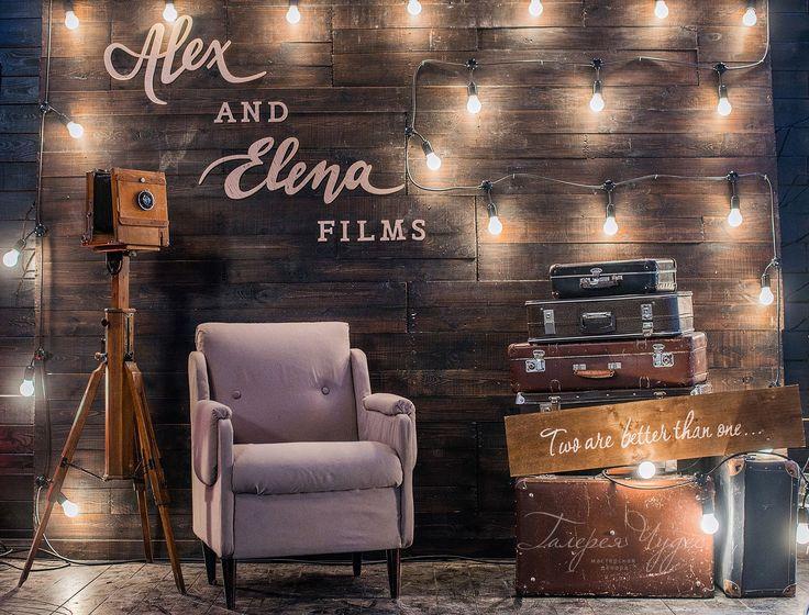 photobooth décoration pour prendre des photos pendant le mariage