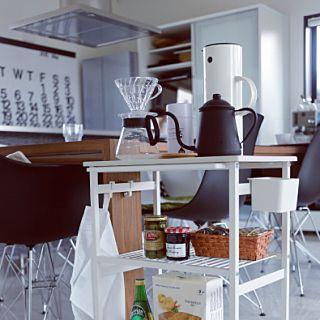 キッチンワゴン キャスター付き スリム…」の商品情報 | RoomClip ... このアイテムタグがついている写真 (10)