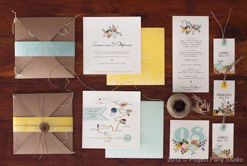 Project party studio » invitaciones handmade