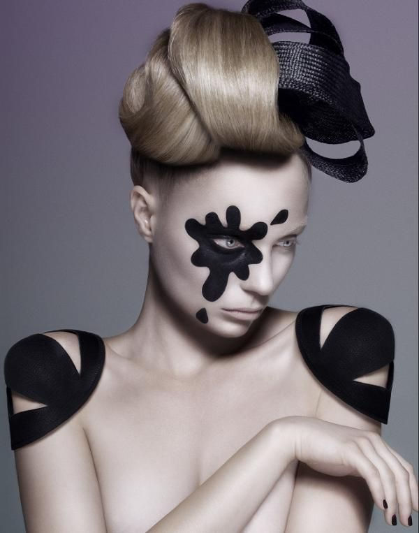 Creative hirstyles by New York based hairstylist Linh Nguyen