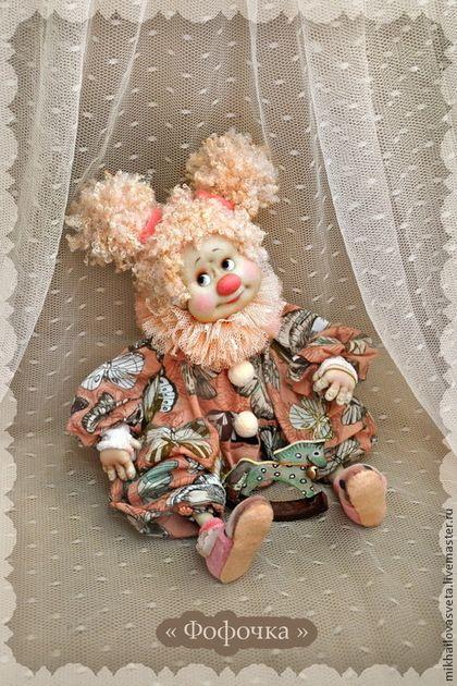 Коллекционные куклы ручной работы. Ярмарка Мастеров - ручная работа Фофочка. Handmade.