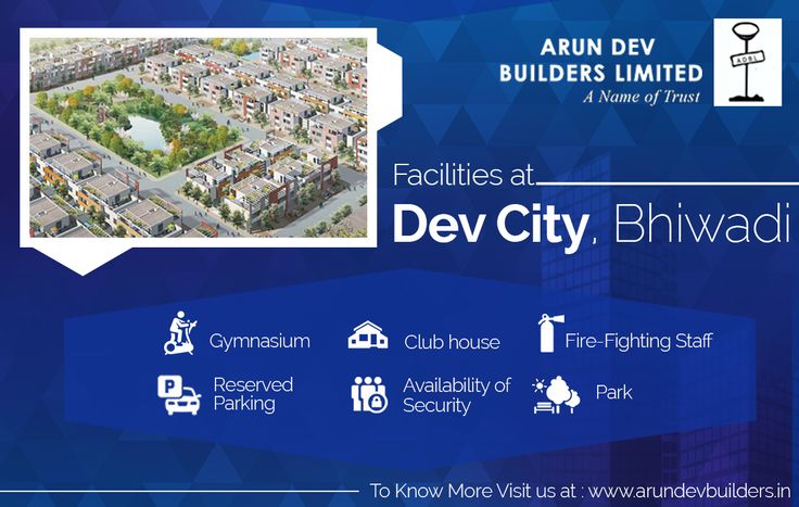 Modern Facility Arun Dev Builders Enjoy the most amazing five-star facilities at your home. By just booking a flat at Dev City, Bhiwadi.