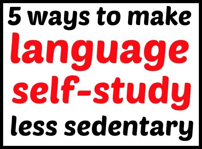 When youre self-studying a language, you might find yourself spending hours sitting in front of a screen. This blog post outlines some suggestions for making language learning from home a bit more active. - follow my profile for more and visit my website