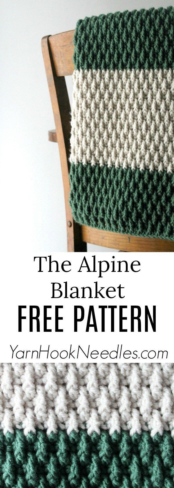 Are you ready for the most perfectly textured blanket for Fall? Then get ready for the Alpine Blanket!   This design was inspired by a co-worker of my husband's who …