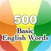 """500 Basic English Words 500 basic words and picture(4 pictures for each word) that you can learn.   3 Test mode : """"look at the word selected picture"""", """"listen to the word pronunciation selected picture"""", """"see pictures selected word"""".  Pictures, words, pronunciation of the integration of memory enhancement. It is not only a good tool for baby to learn english, but also for other English learners in order to increase memory by contrast word and picture ."""