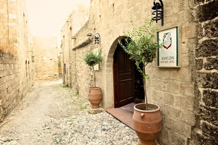 Avalon Boutique Hotel in Rhodes Medieval Town
