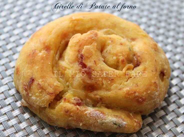 Girelle di Patate |ricette con patate: sono semplici,gustose,piacciono tanto ai bimbi.Un secondo leggero e saporito.Basta solo lessare le patate e impastare