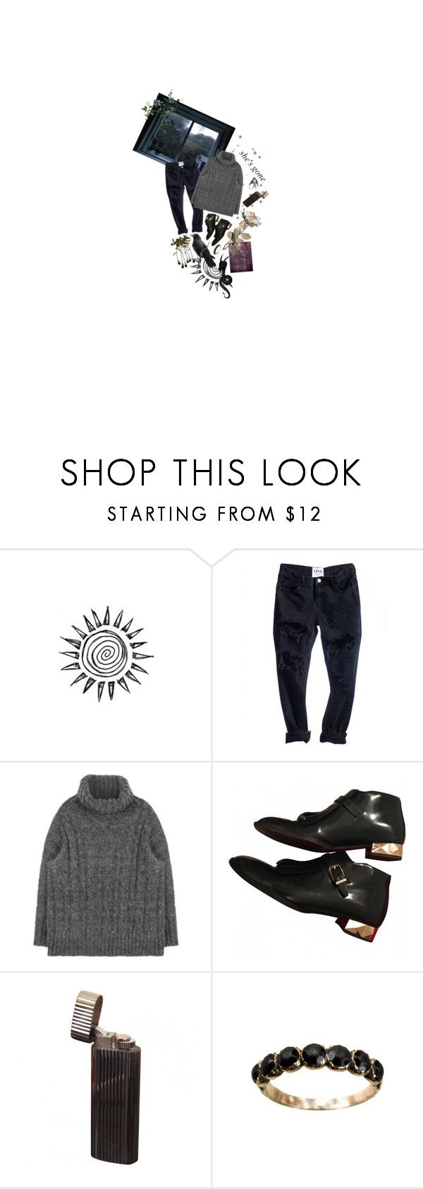 """gone without a trace"" by reslain ❤ liked on Polyvore featuring Alaïa and vintage"