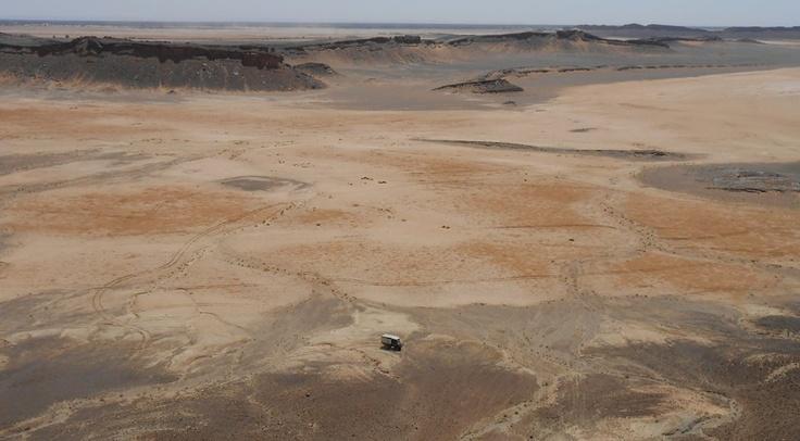 Paesaggio marocchino con Skipperditerra