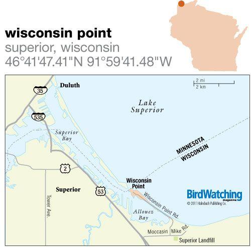 121. Wisconsin Point, Superior, Wisconsin - BirdWatching