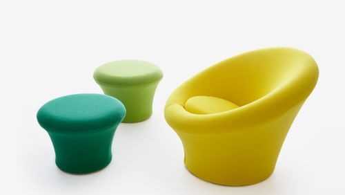 Mushroom Chair by Pierre Paulin for Artifort