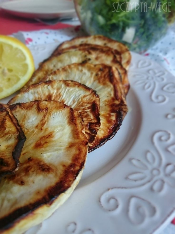 seler smazony obiad dla wegan latwy