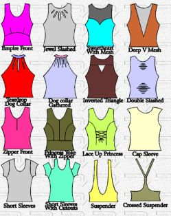 Colourful Synchronised Swimming Costume