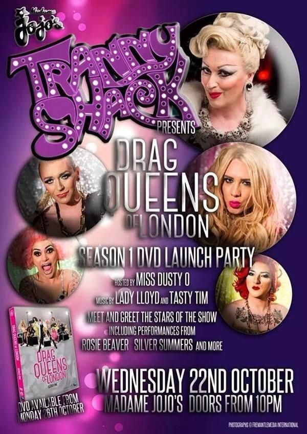 Official Drag Queens Of London DVD launch party