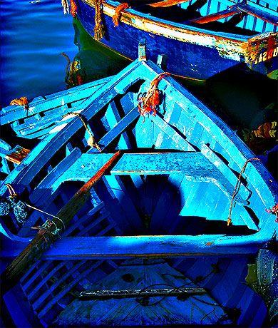 Le bleu d'Essaouira Maroc