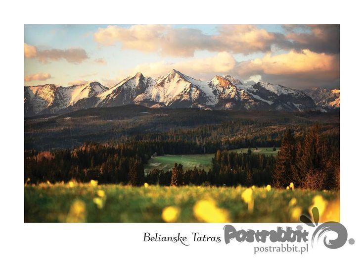 Wschód słońca w Tatrach Bielskich