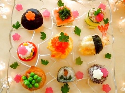 みんなのレシピ:にぎやかお寿司