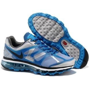 Cheap Mens Nike Air Max 2012 Wolf Grey Black Soar Metallic Silver Shoes The  Most Flexible Shoes