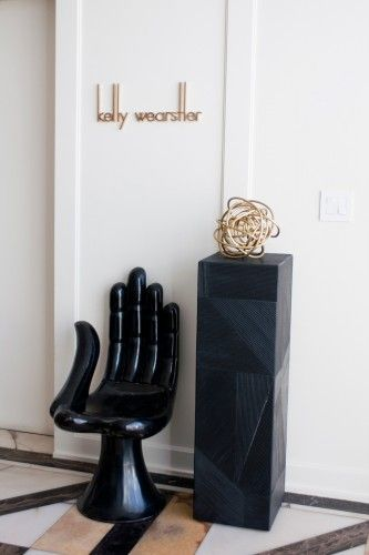 See world-famous interior designer Kelly Wearstler's office! Photos by Molly Cranna.