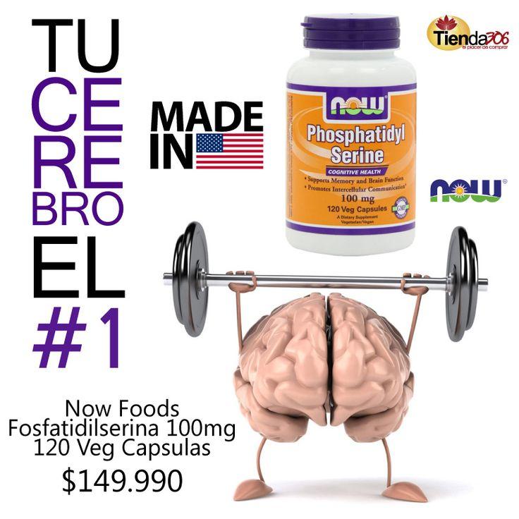 Fosfatidilserina Now Foods - Tu cerebro el #1