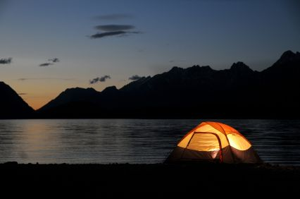 Lake District camping