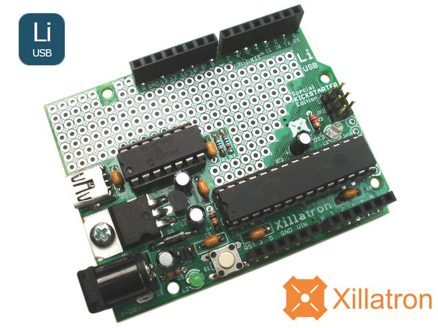 High-performance 32-bit Through-hole Arduino™ Compatible