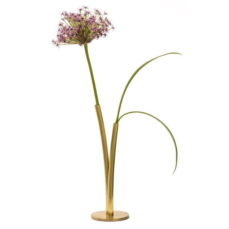 Skott vase S, messing i gruppen Innredningsdetaljer / Dekorasjon / Vaser & Potter hos ROOM21.no (1023201)