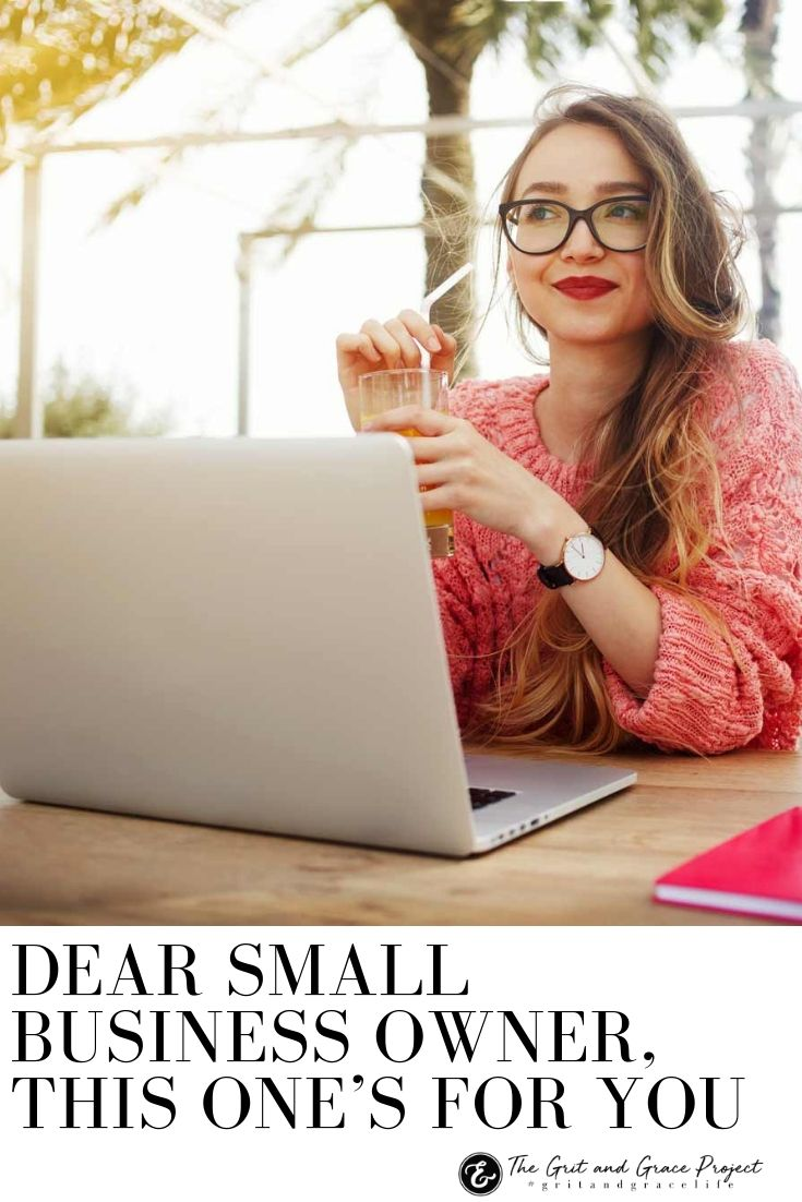 Dear Small Business Owner This One S For You Small Business