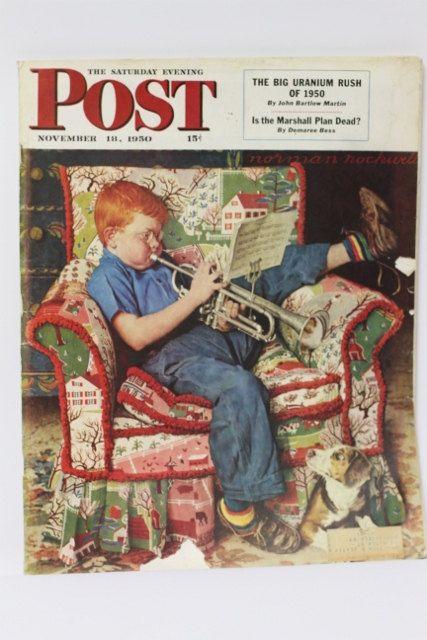 Saturday Evening Post Magazine November 18 1950 Love The