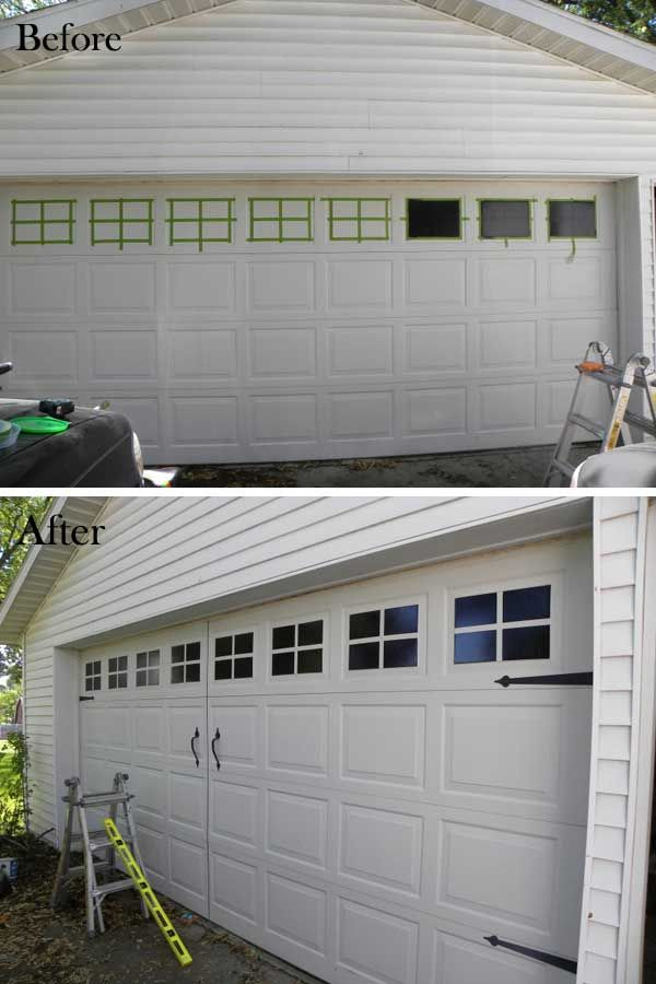 We all know that a home's curb appeal usually isthe first impression guests have of your home. Improving your home's curb appeal doesn't have to be expensive. Sometimes, the simplest changes can make a world of difference. 1. Paint windows on a carriage garage door. Full tutorial: twopeasinabucket.com 2. DIY pots house number. Full turorial: […]