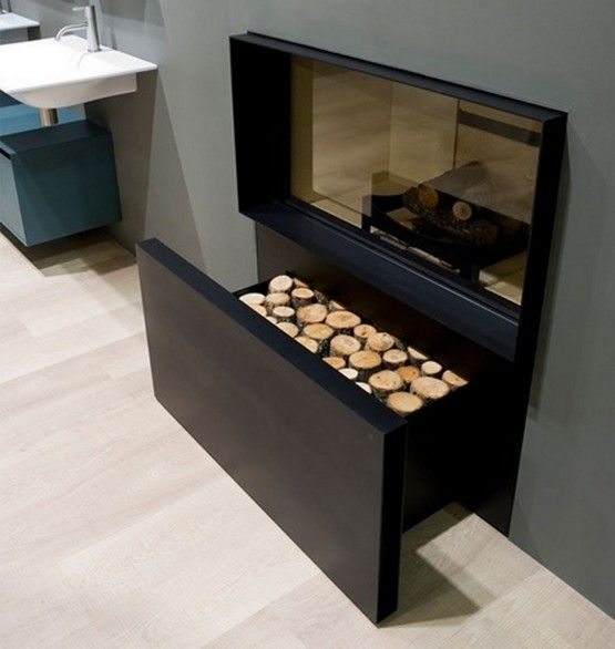 Visualizations Of Modern Apartments That Inspire: 26 Best Images About Fireplace On Pinterest