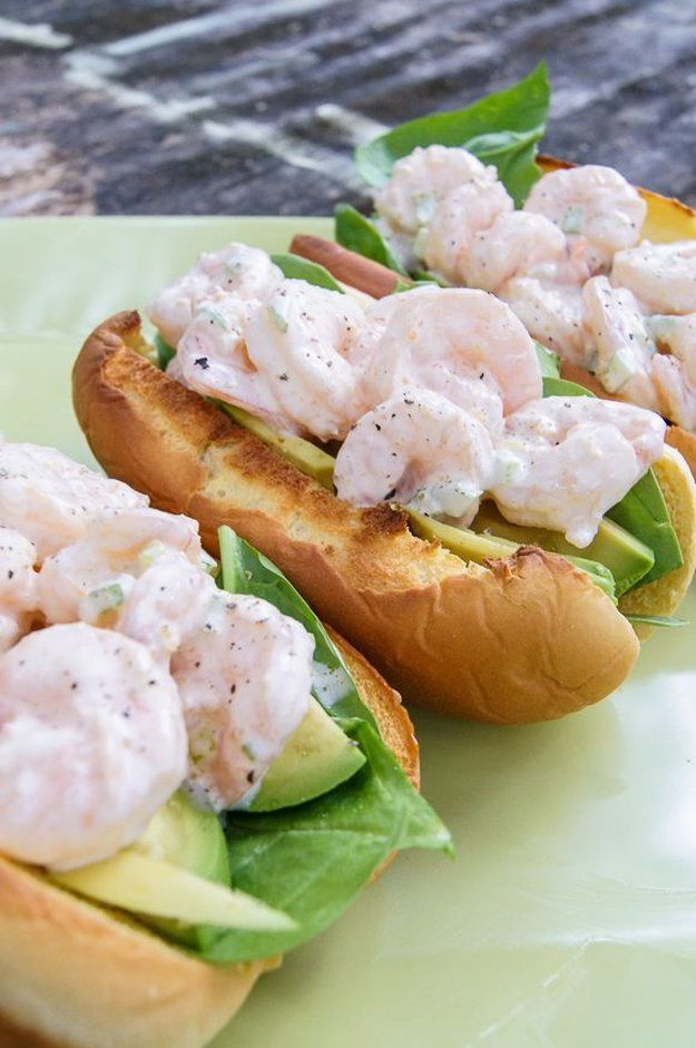 Simple Shrimp Scampi Hot Dogs without Wine by Homemade Recipes at http://homemaderecipes.com/healthy/24-homemade-shrimp-scampi-recipes