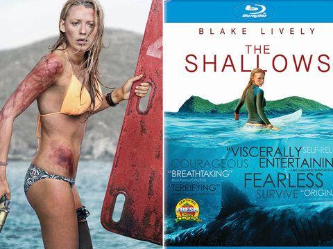 "Blake Lively takes on a killer shark in ""The Shallows,"" hitting home video on September 27."