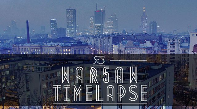 Warsaw Timelapse by R5 Films