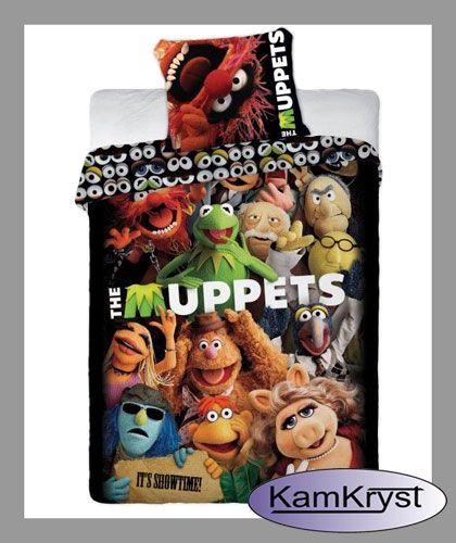Pościel The Muppets rozmiar pościeli 160x200 - pościel firmy Faro