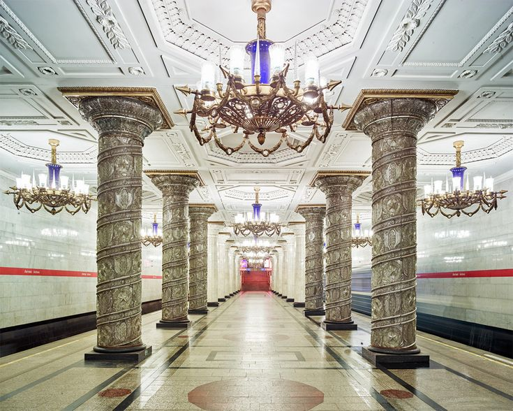 The hypnotizing beauty of moscows historic metro stations