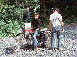 A great archival piece, Highway 61 Revisited…On a Triumph from one of the best sites out there — The Vintagent — on Dylan and his Triumph days, and how the crash ultimately change…
