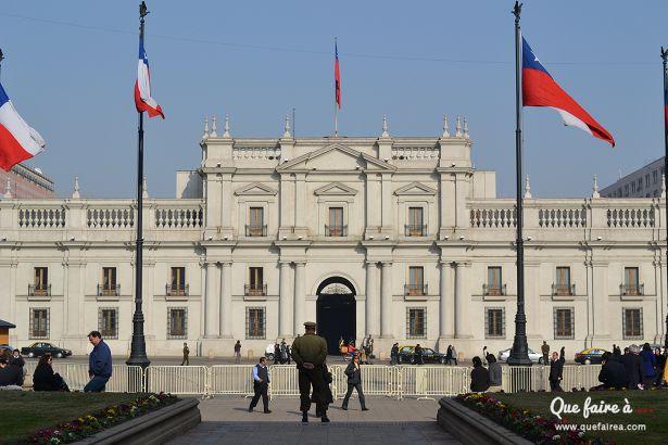 Palais de la Moneda, Santiago du Chili - Chile