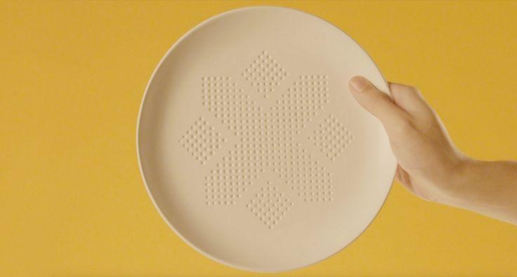 AbsorbPlate : l'assiette qui absorbe les calories