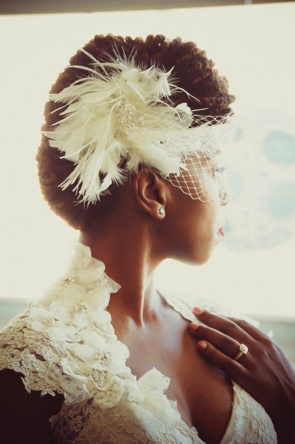 20 noivas negras arrasando com seus cabelos naturais | Casar é um barato - Blog de casamento