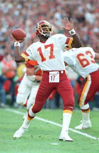 Doug Williams winning the superbowl for the Washington Redskins as the first black MVP