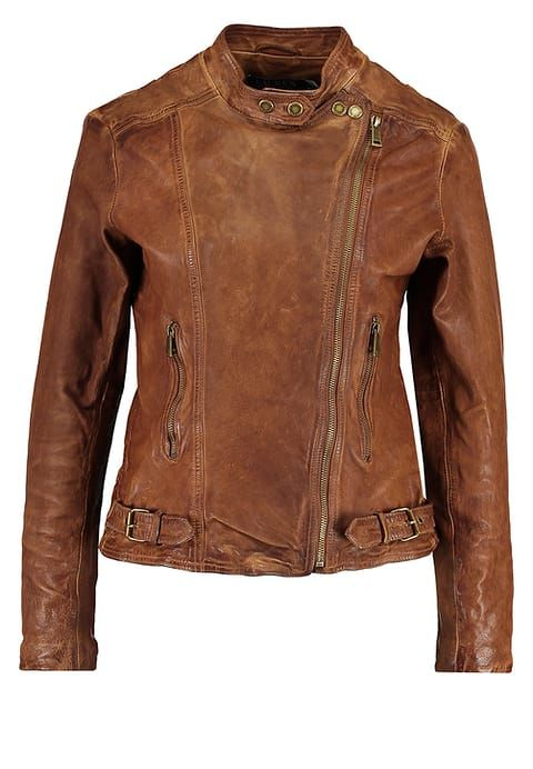 Lauren Ralph Lauren FEYOSHI - Leather jacket - dark walnut for £454.99 (03/07/17) with free delivery at Zalando