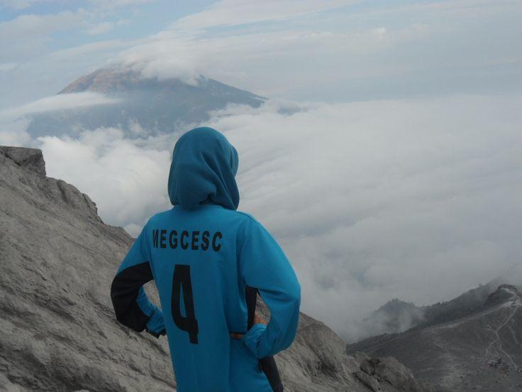 I'm number 4! Mt. Merapi 2911 mAsl, Jawa Tengah, Indonesia