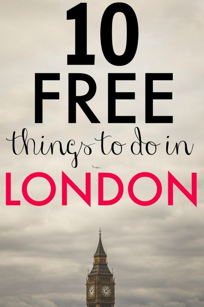 10 free things to do in London, England, on a tight budget. This is a great list for anyone who is trying to save money on their vacation in London.