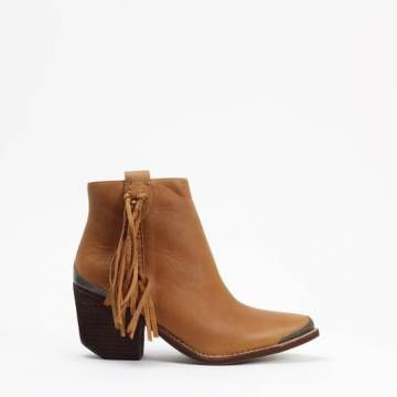 JEFFREY CAMPBELL PASCAL  Ankle Boots Tan leather
