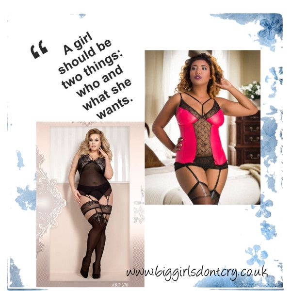 Big Girls Are Hot in Pink by biggirlsdontcrylingerie on Polyvore