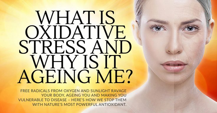 Oxidative stress ages and can cause cancer