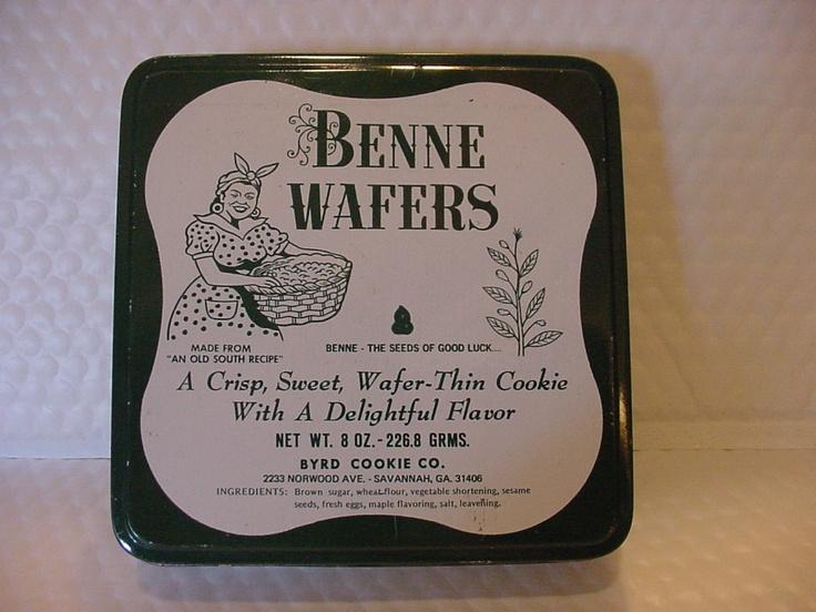 Benne Wafers - Byrd Cookie Company in Savannah, GA