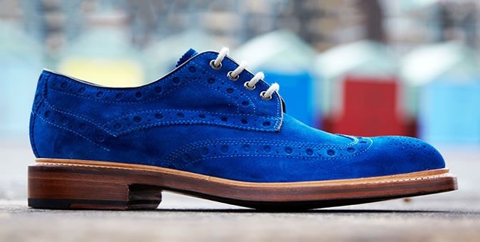 This men's guide from FashionBeans will have you reevaluating your concept of fashionable footwear.   Should the need arise, Orth can give those shoes an exceptional shine for only $10.